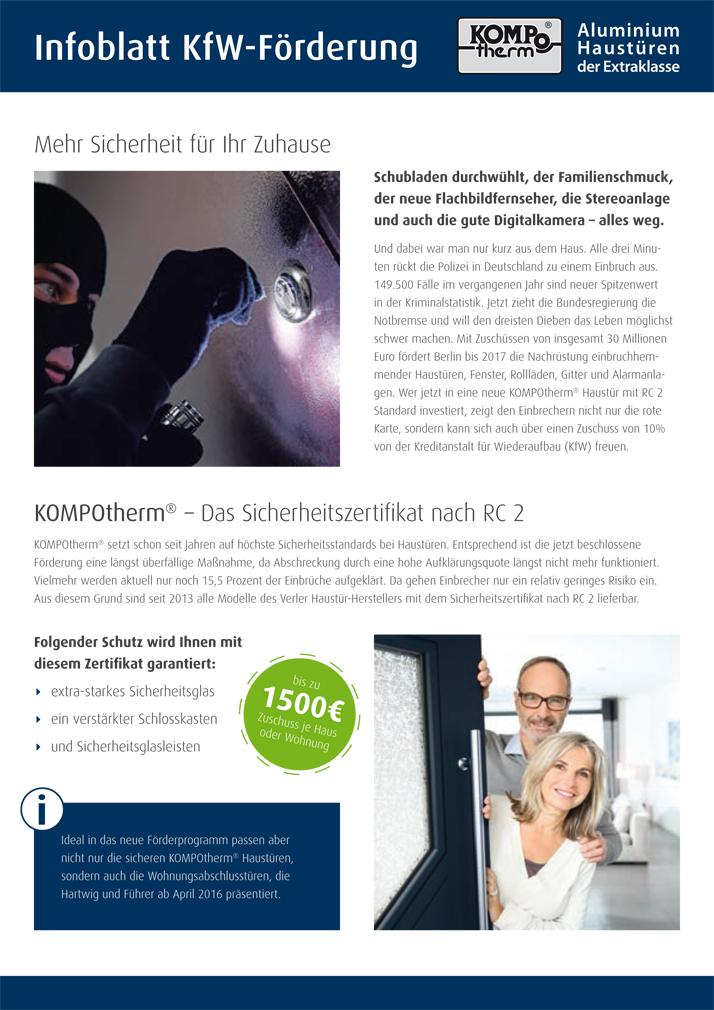 KfW-Förderung-Infoblatt